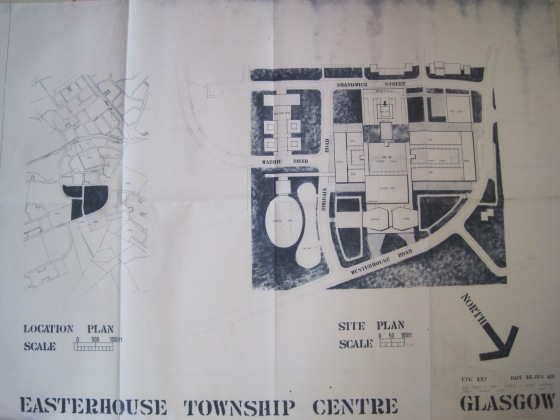 1950s Plans for Easter House, Glasgow