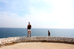 Standing at the coast of Puglia